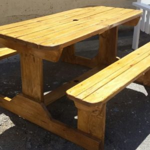 Oak Picnic Table