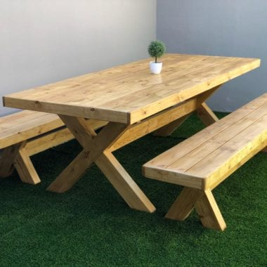 natural jenna dining room table